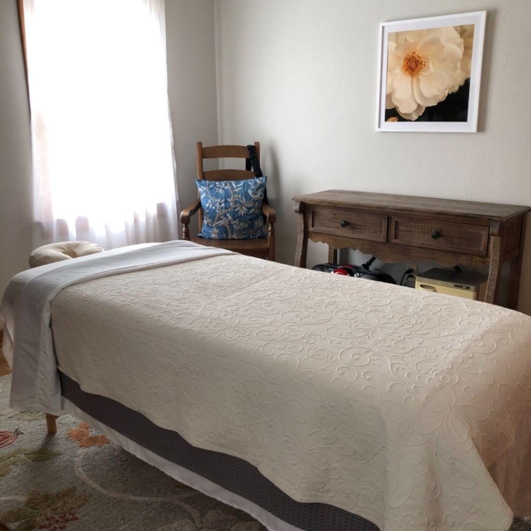 In-home massage studio
